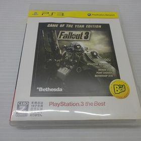 Fallout 3: Game of the Year PS3 the Best 通常中古品 ybps3001071